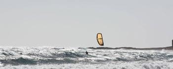 Kite surf en Méditerranée