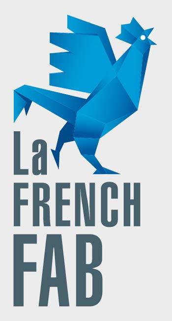 Nous adhérons à la French Fab - logo